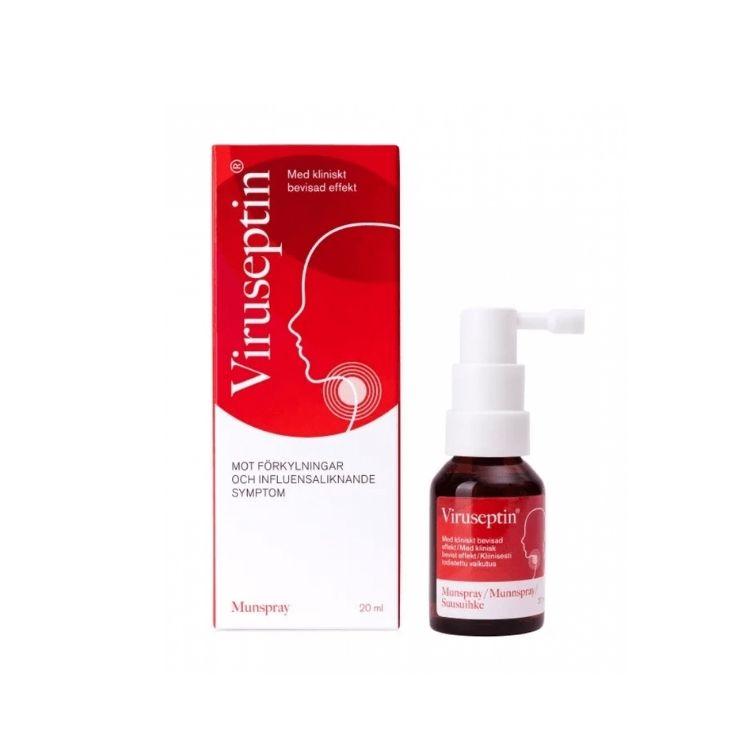 Viruseptin munspray mot förkylning 20 ml