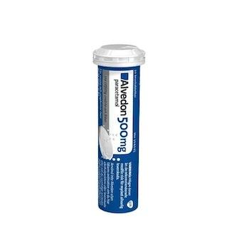 Alvedon brustablett 500 mg 20 st