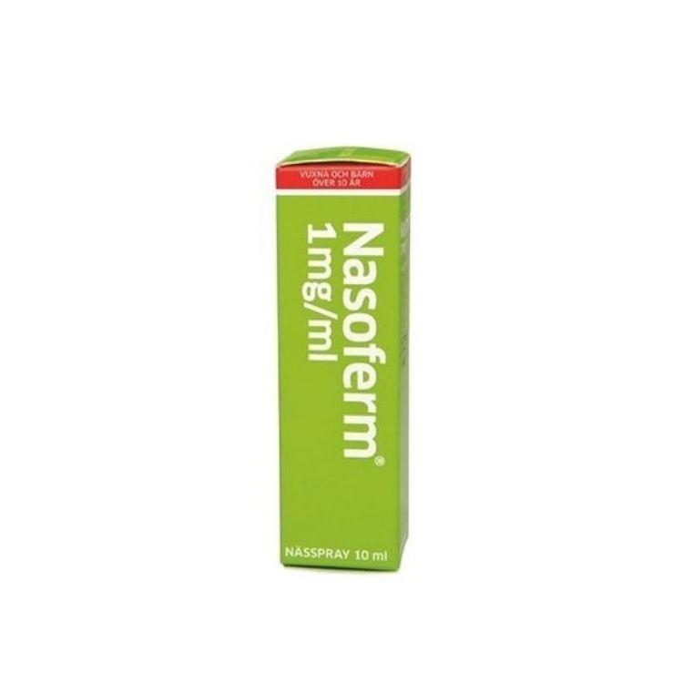 Nasoferm nässpray, lösning 1 mg/ml 10 ml