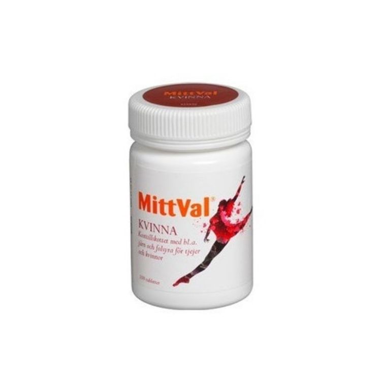 MittVal Kvinna 100 tabletter
