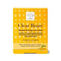 Clear Brain 60 tabletter