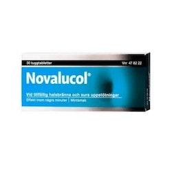 Novalucol, tuggtablett med 30 st