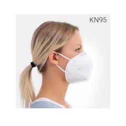 Självfiltrerande Mask med 5 Lager KN95 2-pack