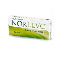 NorLevo, tablett 1,5 mg Takeda Pharma AB 1 st