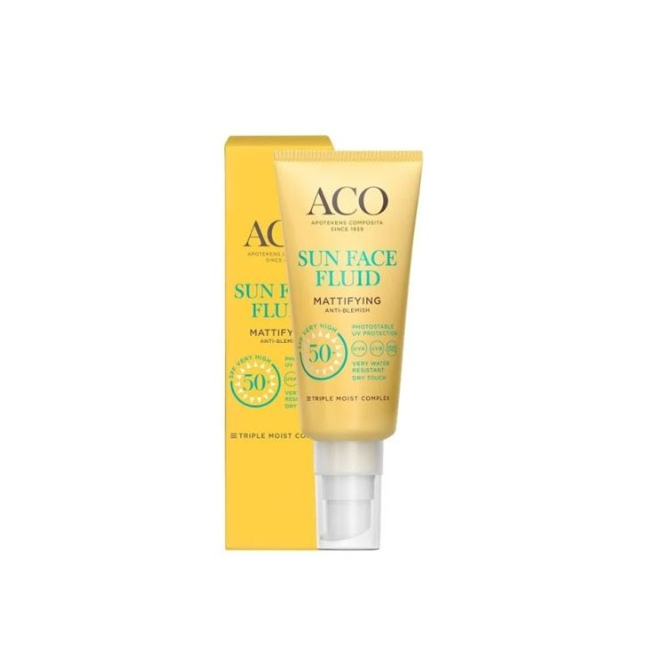 ACO Sun Mattifying Face Fluid SPF 50 40 ml