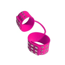 Rosa handbojor i silikon