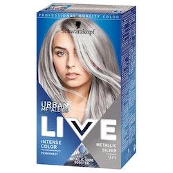Schwarzkopf Live U71 Metallic Silver