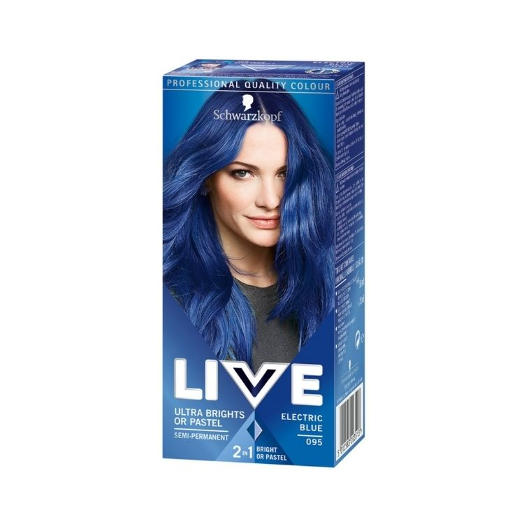 Schwarzkopf LIVE Ultra Brights or Pastel 95 Electric Blue