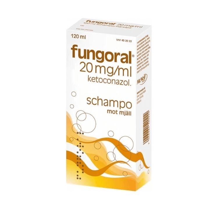 Fungoral schampo 20 mg/ml 120 ml