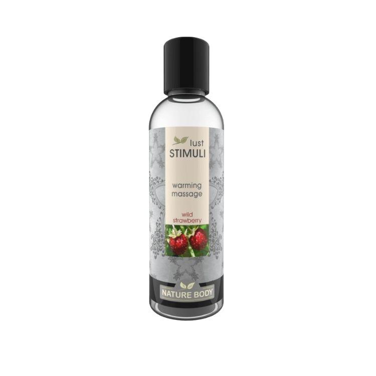 Lust Stimuli Wild strawberry Värmande Massage 100ml