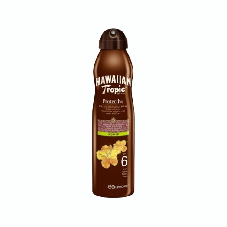 Hawaiian Tropic Dry Oil Argan C-Spray 6 SPF 180 ml