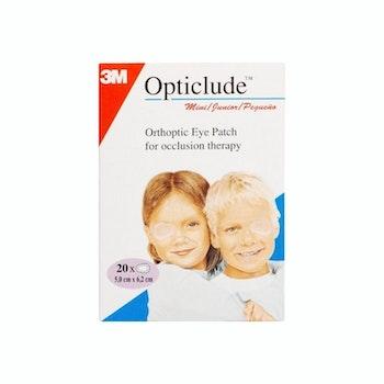 Opticlude Ögonlappar Mini 20 st 5.0 cm x 6.2 cm