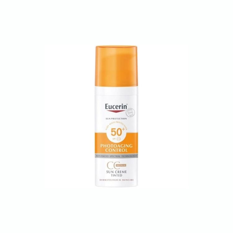 Eucerin Anti Age Sun CC-Cream Tinted SPF50+ 50 ml