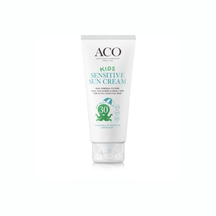 ACO Kids Sensitive Sun Cream SPF 30 100 ml