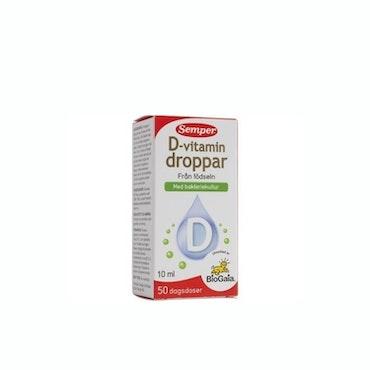 Semper D-vitamindroppar 10 ml
