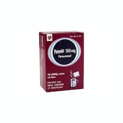 Panodil, pulver till oral lösning 500 mg 12 dospåsar