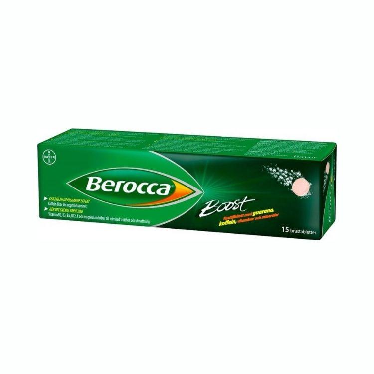 Berocca Boost brustabletter 15 st