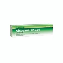Alcosanal, rektalsalva 110 mg/g 50 g