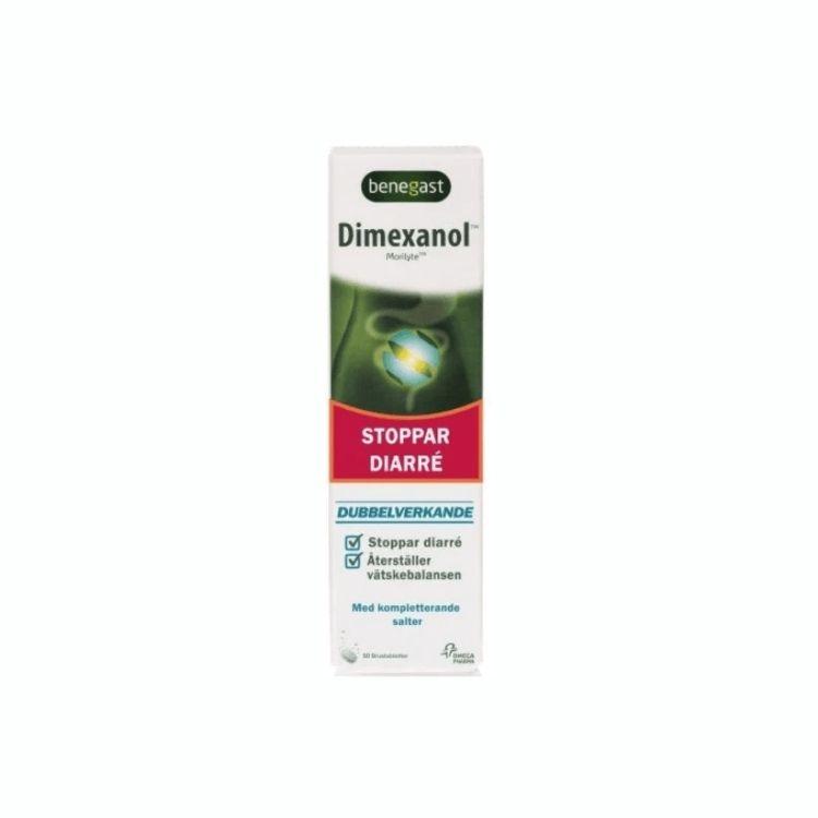 Dimexanol 10 brustabletter