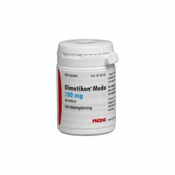 Dimetikon Meda kapsel mjuk 100 mg 100 st