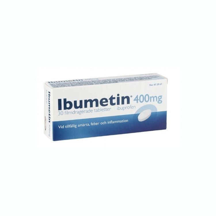Ibumetin tablett 400 mg 30 st