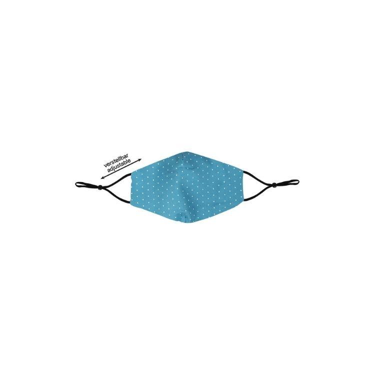 Munskydd återanvändbar blå 1 pack