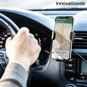 Mobilhållare med trådlös laddare för bil Wolder InnovaGoods