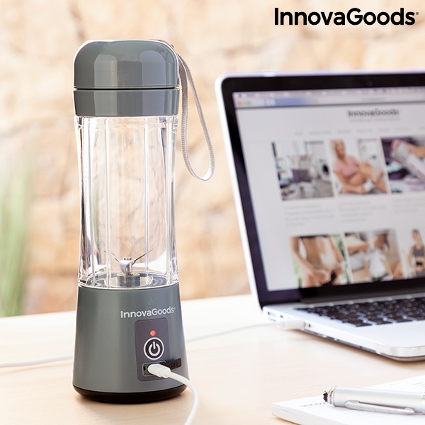 Mixer med bärbar och uppladdningsbar behållare Shakuit InnovaGoods