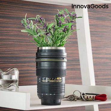 Termomugg med lock InnovaGoods