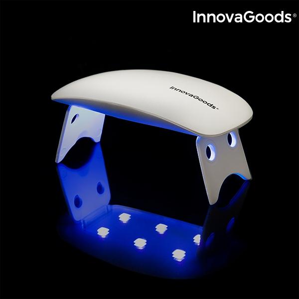 Nagellampa LED UV Pocket InnovaGoods