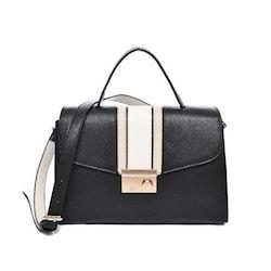 Rosa/svart Väska