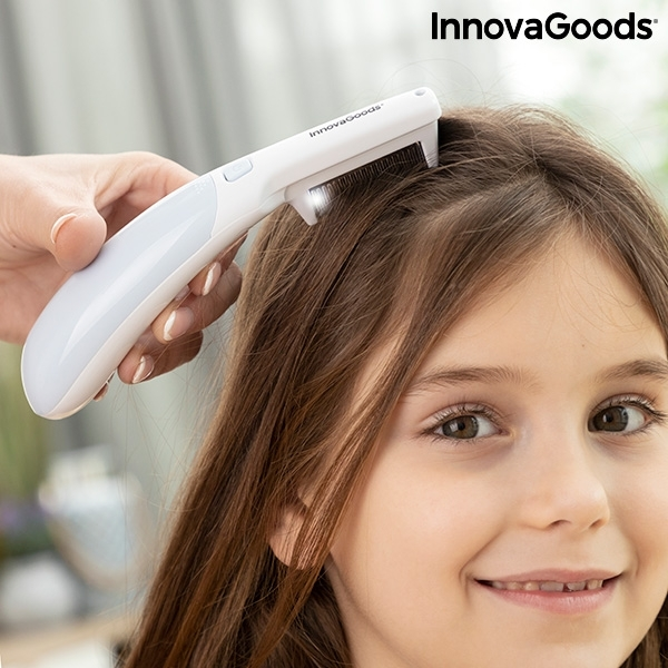 Elektrisk luskam med handtag Unlicer InnovaGoods