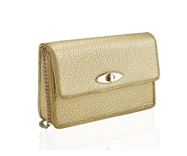 Guld väska liten perfekt till fest