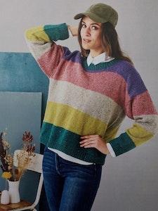 Randig sweater 899305