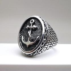 Anchor Sailor Stainless Steel Ring - SWEVALI