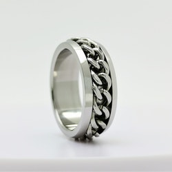 Chic Chain Stainless Steel Ring - SWEVALI