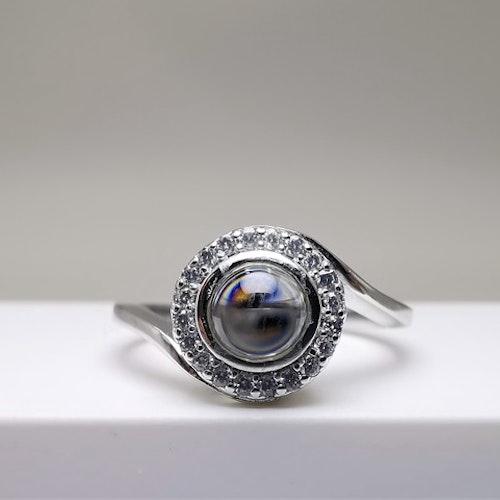 Worlds Love Silver Ring 925 - SWEVALI