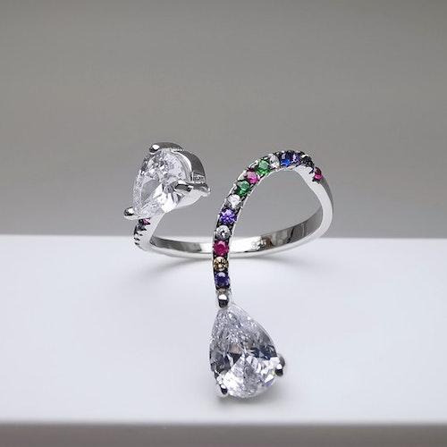 Silver Flex Silver Ring 925 - SWEVALI