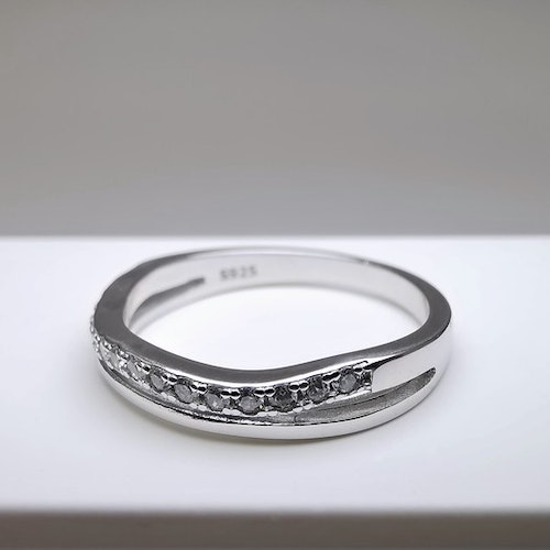 Silver Waves Silver Ring 925 - SWEVALI