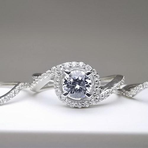 Elegant Beauty Silver Ring Set 925 - SWEVALI