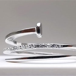 Silver Diamonail Silver Ring 925 - SWEVALI