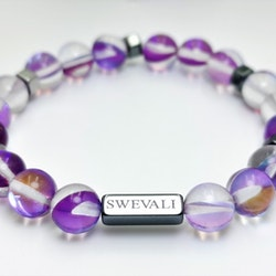 Party Purple Pärlarmband - SWEVALI