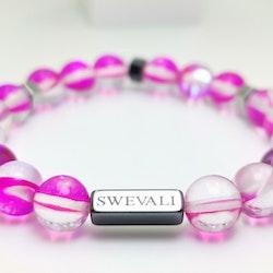 Party Pink Pärlarmband - SWEVALI