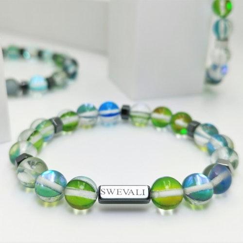 Party Green Pärlarmband - SWEVALI