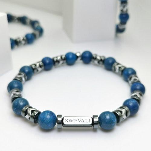 Galaxy Blue Pärlarmband - SWEVALI