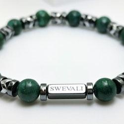 Galaxy Green Pärlarmband - SWEVALI