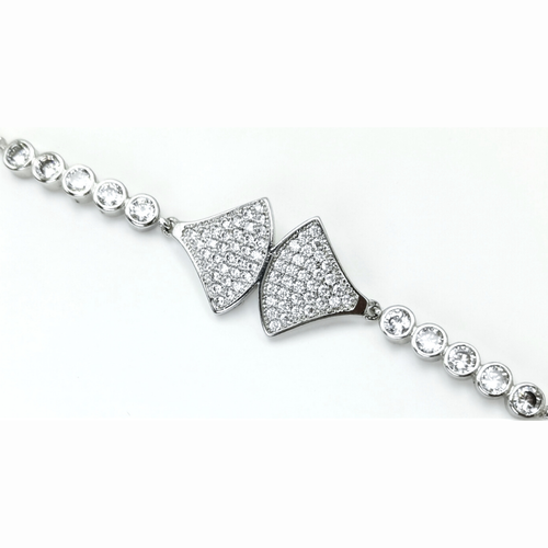 Axs Diamond Silver Edition Armband with Chain - SWEVALI