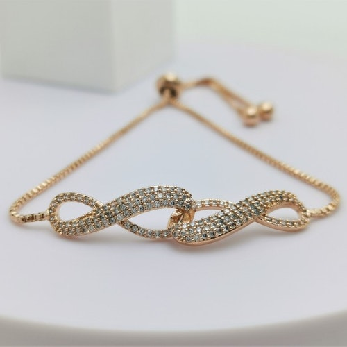 Infinity Twice Armband