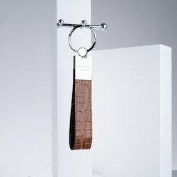 "Leather Key Holder ""Coco Sahara"" The Key - SWEVALI"