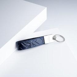 "Leather Key Holder ""Coco Blue Night"" The Key - SWEVALI"